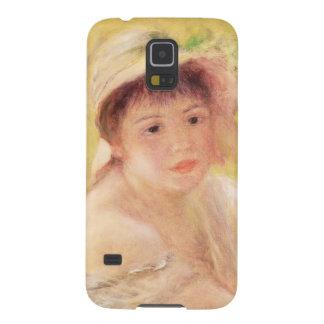 Pierre une femme de Renoir | dans un chapeau de Protections Galaxy S5