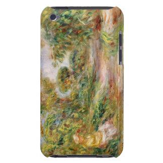 Pierre une femme de Renoir | dans un paysage Coque iPod Touch Case-Mate