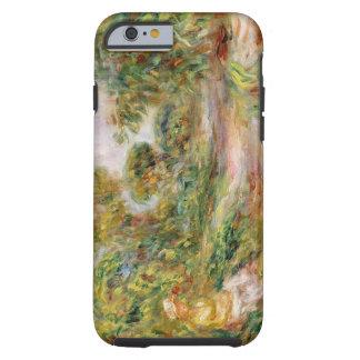 Pierre une femme de Renoir | dans un paysage Coque Tough iPhone 6