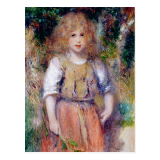 Pierre une fille gitane de Renoir |, 1879 Carte Postale