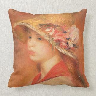 Pierre une jeune femme de Renoir   dans un Oreillers