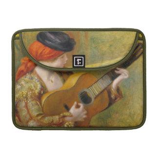 Pierre une jeune femme espagnole de Renoir | avec Housse Pour Macbook