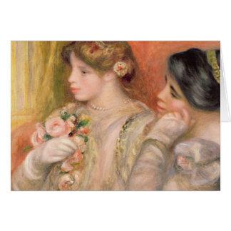 Pierre une La Loge de Renoir | Dans Carte De Vœux