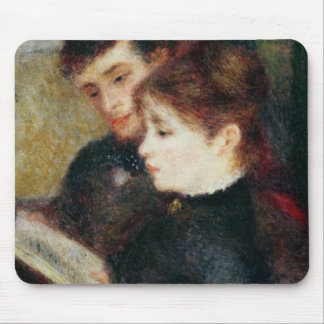 Pierre une lecture de couples de Renoir | Tapis De Souris