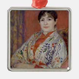 Pierre une Madame Heriot de Renoir | Ornement Carré Argenté
