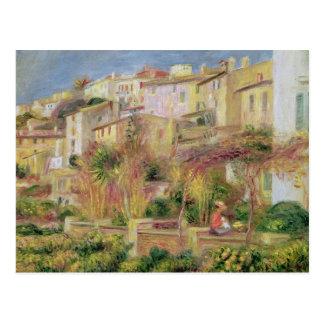 Pierre une terrasse de Renoir   dans Cagnes Carte Postale