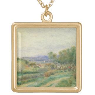 Pierre une vue de Renoir | de La Seyne, Provence Collier Plaqué Or