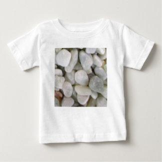 pierres blanches lisses des roches t-shirt pour bébé