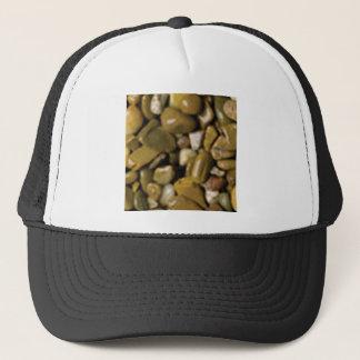 pierres brunes et bronzages casquette