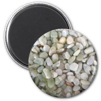 pierres et couleur de gravier aimant