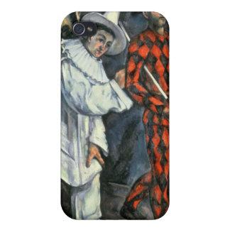 Pierrot et harlequin, 1888 coques iPhone 4