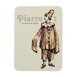 Pierrot par Hans Peter Hansen CC0176 Magnets En Vinyle