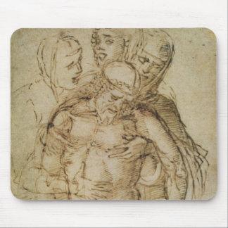 Pieta, attribué ou à Giovanni Bellini (c.14 Tapis De Souris