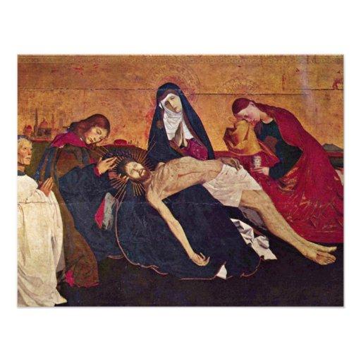 Pieta d'aperçu de Villeneuve-Les-Avignon par Engue Faire-part Personnalisés