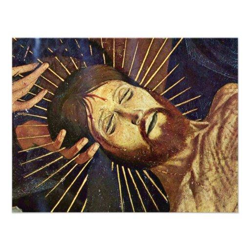 Pieta de Villeneuve-Les-Avignon par Meister Der pi Bristols Personnalisés