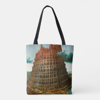 PIETER BRUEGEL - La petite tour de Babel 1563 Tote Bag