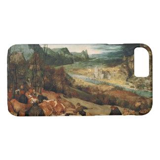 Pieter Bruegel l'aîné - le retour du troupeau Coque iPhone 7