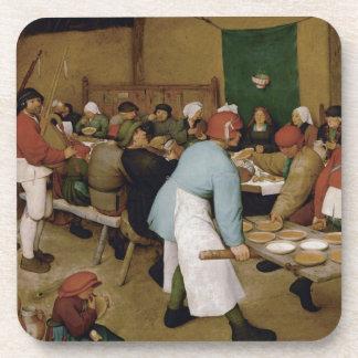 Pieter Bruegel l'aîné - mariage rural Sous-bocks
