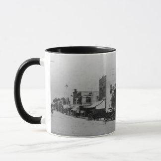 Piétons, cyclistes, et cheval-chariots mug