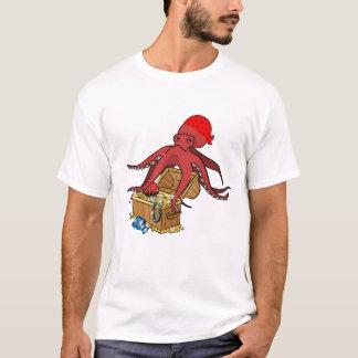 Pieuvre Pirate louphoque T-shirt