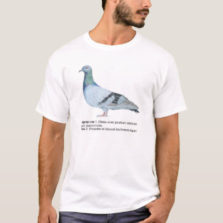 Pigeon by NuancesdePigeon T-shirt