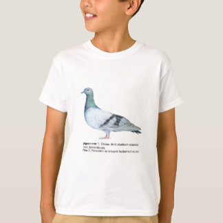 Pigeon by NuancesdePigeon T-shirts