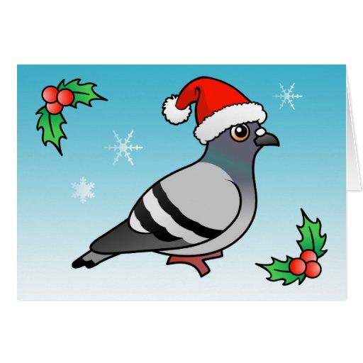 Père Noel Mignon Pigeon Mignon Père Noël de