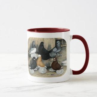 Pigeons de culbuteur ratés mug
