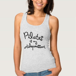 Pilates est mon antidépresseur - débardeur