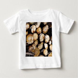 Pile des rondins t-shirt pour bébé