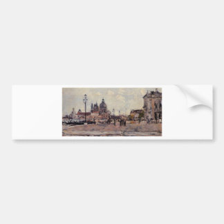 Pilier à Venise par Eugene Boudin Autocollant Pour Voiture
