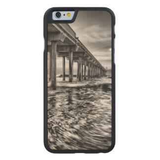 Pilier de B&W à l'aube, la Californie Coque Mince En Érable iPhone 6