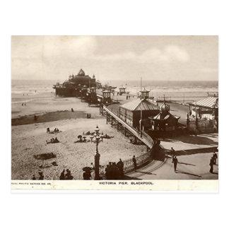 Pilier de Blackpool, Victoria Carte Postale
