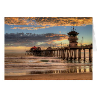 Pilier de Huntington Beach Cartes