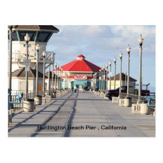 Pilier de Huntington Beach Cartes Postales