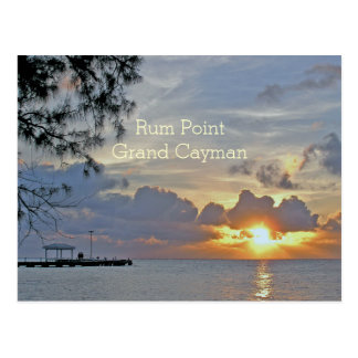 "PILIER DE POINT DE RHUM (GRAND CAYMAN) ""BEAU CARTE POSTALE"