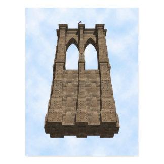 Pilier de pont de Brooklyn : modèle 3D : Carte