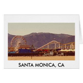Pilier de Santa Monica - carte de voeux 01