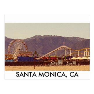 Pilier de Santa Monica - carte postale