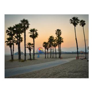 Pilier des Etats-Unis, la Californie, Santa Monica Carte Postale