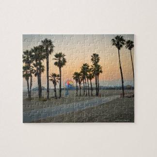 Pilier des Etats-Unis, la Californie, Santa Monica Puzzle