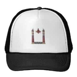 Piliers maçonniques casquette trucker