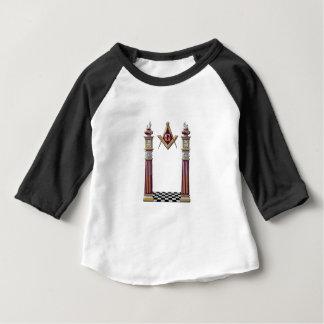 Piliers maçonniques t-shirt pour bébé