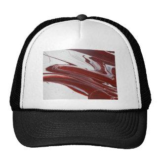 Piliers rouges casquette de camionneur