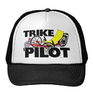 Pilote de tricycle casquettes de camionneur
