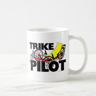 Pilote de tricycle mug