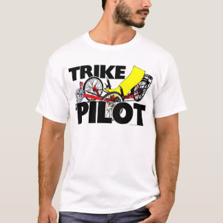 Pilote de tricycle t-shirt
