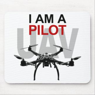 Pilote d'UAV Quadpilot Quadcopter Tapis De Souris