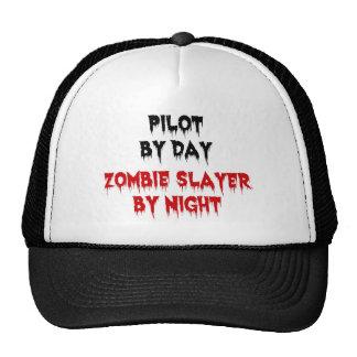 Pilote par le tueur de zombi de jour par nuit casquettes