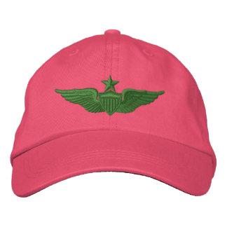Pilote supérieur d'armée casquette brodée
